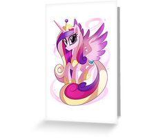 Princess Cadence Greeting Card
