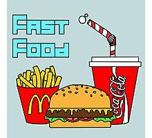 Fast food Photographic Print
