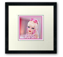 Badass Barbie - Bitches Framed Print