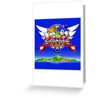 Sonic & Tails Greeting Card
