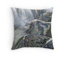 Glassy Rocks Throw Pillow