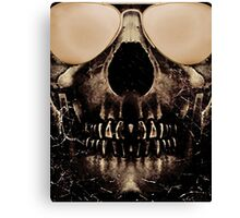 Be Cool Even After Death Canvas Print