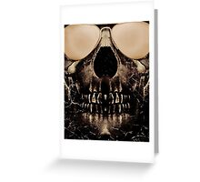 Be Cool Even After Death Greeting Card