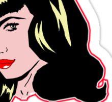 Pin Up Superstar Sticker