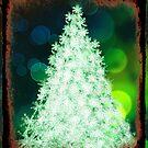 Bokeh Christmas. by Lynne Haselden