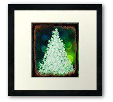 Bokeh Christmas. Framed Print