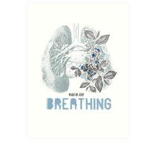 Romantic Ecology Art Print