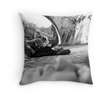 Isola Tiberina 2 Throw Pillow