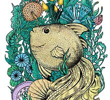 Fantasy fish by Eugenia Hauss