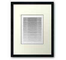 Gray 11 Framed Print