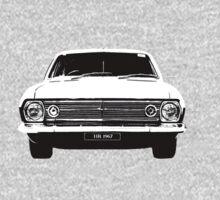 1967 HR Holden One Piece - Short Sleeve