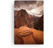 Angels Landing Zion National Park Canvas Print