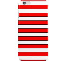 Cat in the Hat Stripes iPhone Case/Skin