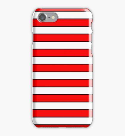 Cat in the Hat Stripes iPhone Case/Skin