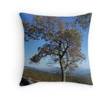 Tree On The Overlook Throw Pillow
