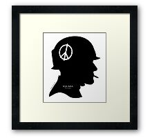 POW-MIA: 2200 still SLEEP on the Dark Side of this World! Framed Print