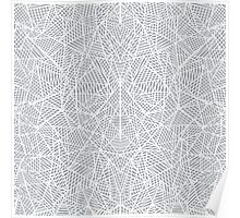 Abstract Lace Poster