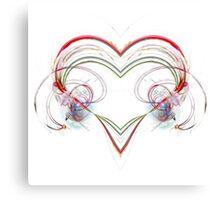 Stylized Heart Canvas Print