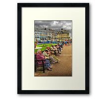Slow Lane Framed Print