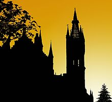 Glasgow University by Stuart  Fellowes