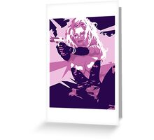 Barbwire - Pamela Anderson Greeting Card