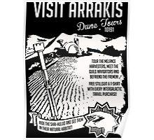Visit Arrakis Dune Tours Poster