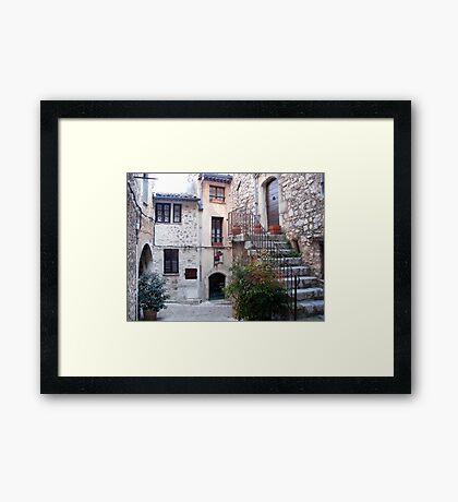 Village Of The Violets Framed Print