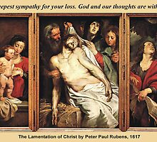 Peter Paul Rubens' The Lamentation of Christ by Harveylee