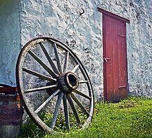 Wagon Wheel by cclaude