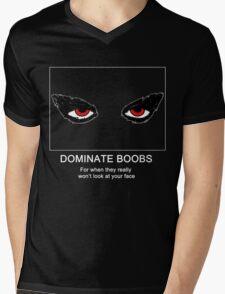 OmenCon 2012 - Dominate Boobs [light] Mens V-Neck T-Shirt