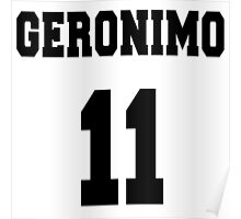Geronimo - The 11th Doctor Poster
