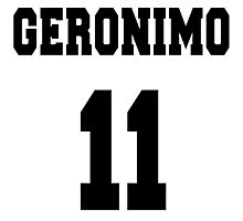 Geronimo - The 11th Doctor Photographic Print
