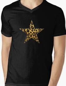 Wild Star Mens V-Neck T-Shirt