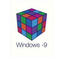 Windows -9 Art Print