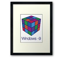 Windows -9 Framed Print