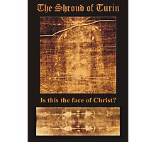 Reecy Aresty's photo of The Shroud of Turin Photographic Print