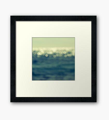 blurred light Framed Print