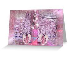 Pastel Christmas Greeting Card