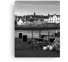 Elie - A Fishing Tradition Canvas Print