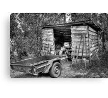 Pops Tractor. Canvas Print