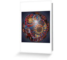 Spherical Mechanism  Greeting Card