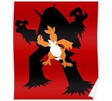Torchic - Combusken - Blaziken Poster
