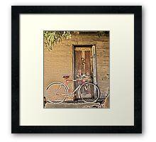 Man's Vintage Bicycle,  Framed Print