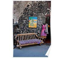 Shopfront Bench Poster
