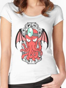 The Call Of Zoidthulhu Women's Fitted Scoop T-Shirt