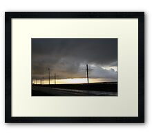 Top Prom 6 Framed Print