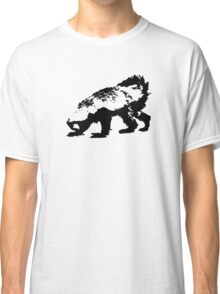 Honey Badger (black) Classic T-Shirt