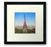 Average Eiffel Tower Framed Print