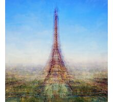 Average Eiffel Tower Photographic Print