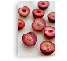 Plums II Canvas Print